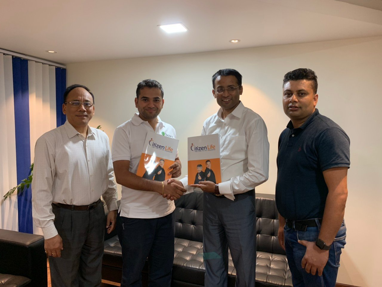 Agreement with citizen life insurance payment with eSewa