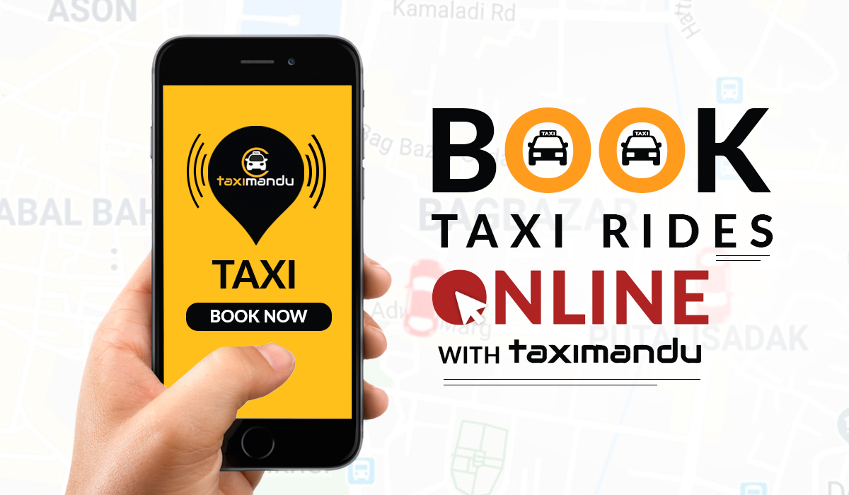 Book your taxi ride online and pay with eSewa