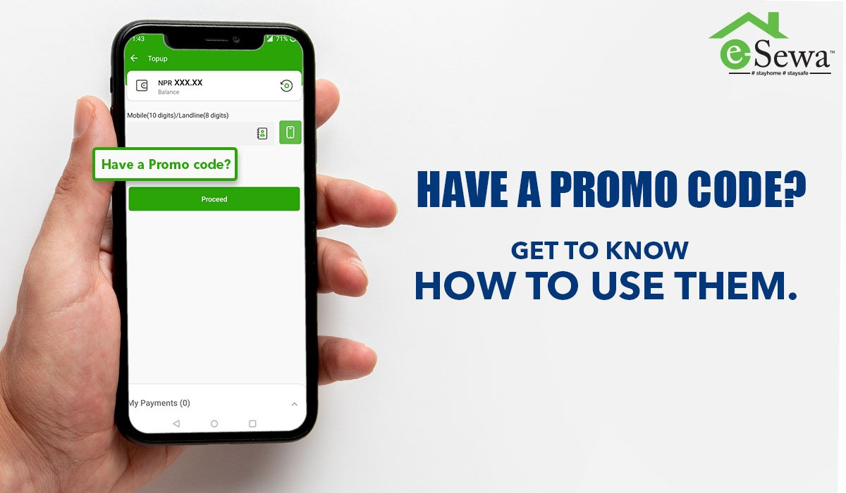 How to use eSewa Promo code